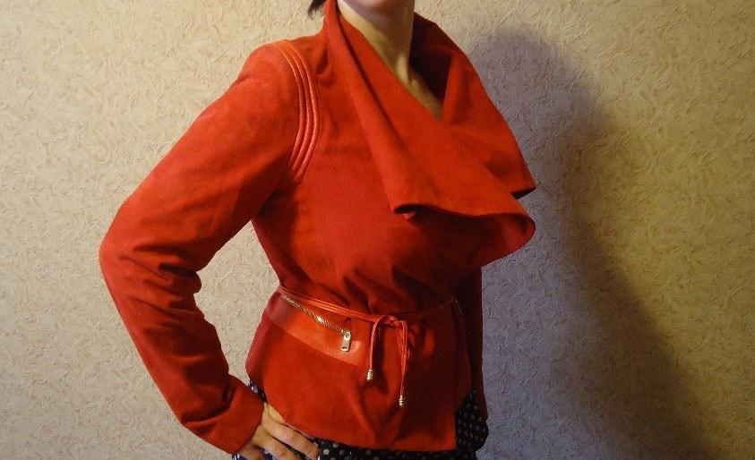 Покраска замшевых курток