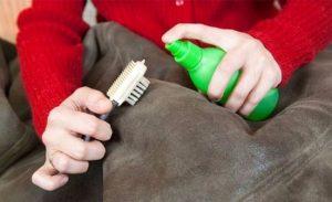 Очистка замшевых курток